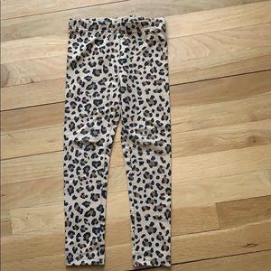 Caters toddler cheetah animal print leggings
